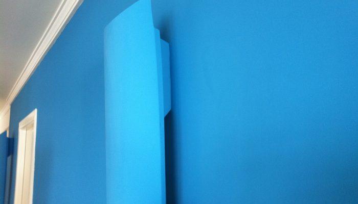 Pintura plástica de colores
